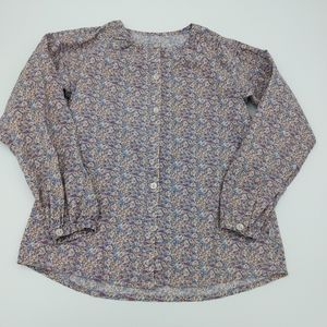WHEAT floral blouse size 8Y